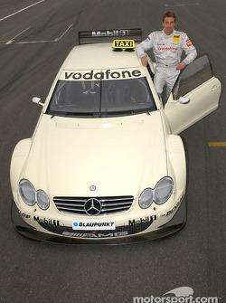 Bernd Schneider drives the AMG-Mercedes CLK race taxi