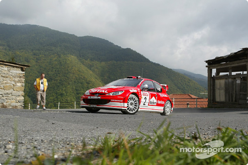 Річард Бернс, Peugeot