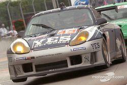 #43 Orbit Racing Porsche 911 GT3RS: Marc Lieb, Peter Baron