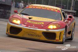 #28 JMB Racing USA/Team Ferrari Ferrari 360 Modena: Stephan Gregoire, Eliseo Salazar, Iradj Alexander