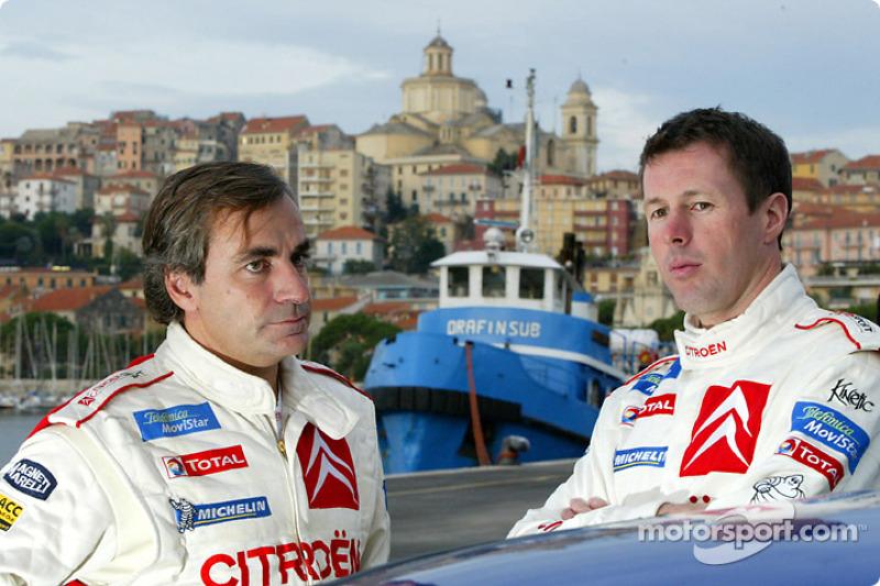 Carlos Sainz y Colin McRae