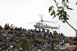 Fans and helicopter