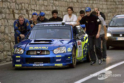 Petter Solberg out of gas