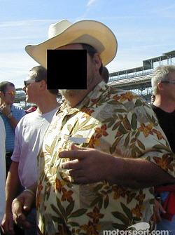 Commoner at pitwalk: Billy