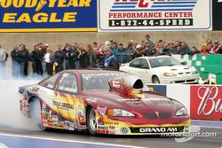 Greg Anderson took the pole in Pro Stock