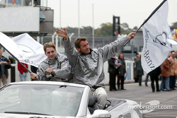 Drivers presentation: Christijan Albers and Bernd Schneider