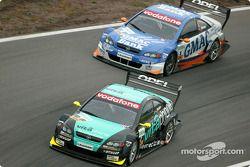 Manuel Reuter, OPC Team Holzer, Opel Astra V8 Coupé 2003; Alain Menu, OPC Team Holzer, Opel Astra V8