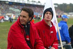Fahrervorstellung: Laurent Aiello, Abt Sportsline, Abt-Audi TT-R 2003; Peter Terting, Abt Sportsline