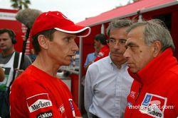 Gilles Panizzi et Corrado Provera