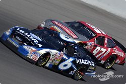 Mark Martin and Kurt Busch