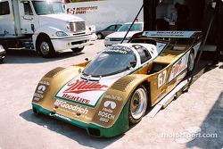 Une Porsche 926 en exposition