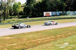 #118 TPC Racing Porsche GT3 Cup: Michael Levitas, Randy Pobst, et #54 Bell Motorsports Chevrolet Doran: Terry Borcheller, Forest Barber, Andy Pilgrim