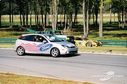 Pace car out