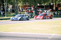 #54 Bell Motorsports Chevrolet Doran: Terry Borcheller, Forest Barber, Andy Pilgrim, and #27 Doran L