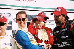 GTS podium: winners Paul Alderman, Steve Lisa and David Rosenblum