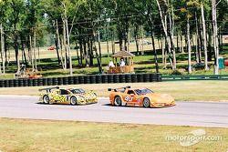 #40 Derhaag Motorsports Corvette: Simon Gregg, Kenny Wilden, et #8 G&W Motorsports BMW Picchio DP2:
