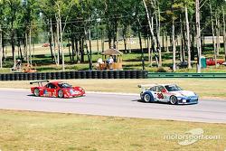 #39 Stevenson Motorsports / Auto Assets Porsche GT3 RS: Chip Vance, John Stevenson, et #27 Doran Lis
