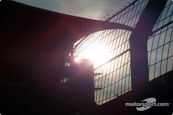 Lever de soleil sur Hockenheim