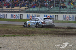 Off-track excursion for Christijan Albers