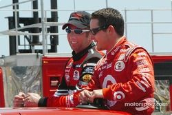 Greg Biffle and Casey Mears