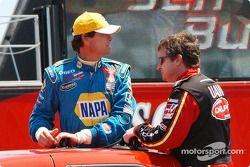 Michael Waltrip and Joe Nemechek