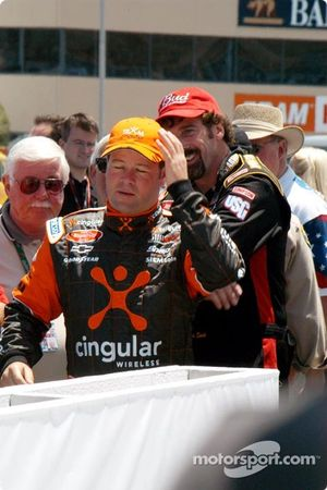 Robby Gordon and Boris Said