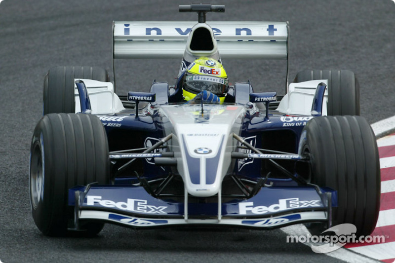 2003: Williams FW25 BMW (4 победы, 2-е место в КК)