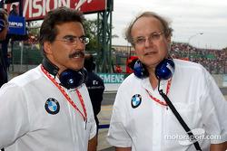 Dr Mario Theissen y Dr Burkard Goeschel