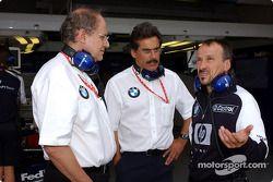 Dr Burkard Goeschel, Dr Mario Theissen y Dr Heinz Paschen