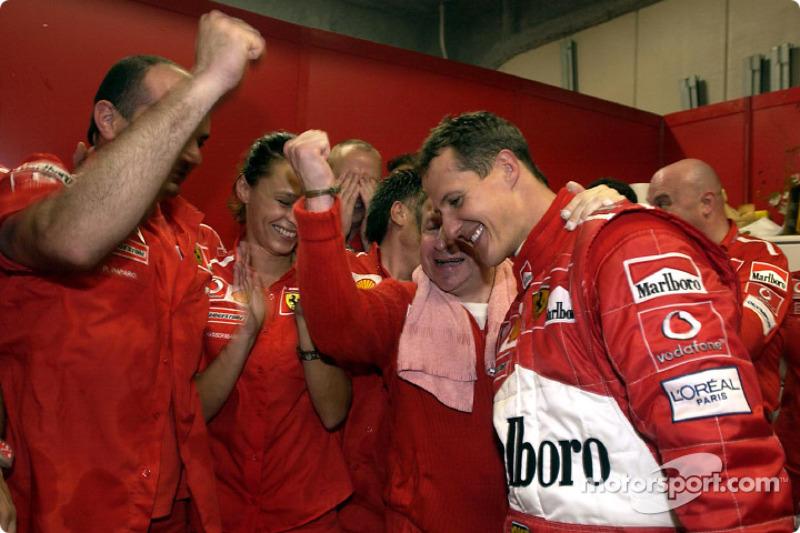 2003: Міхаель Шумахер б'є рекорд Фанхіо