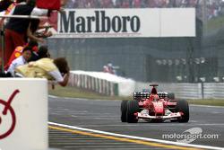 Campeón del mundo Michael Schumacher