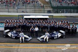 Juan Pablo Montoya, Ralf Schumacher y el equipo Williams-BMW