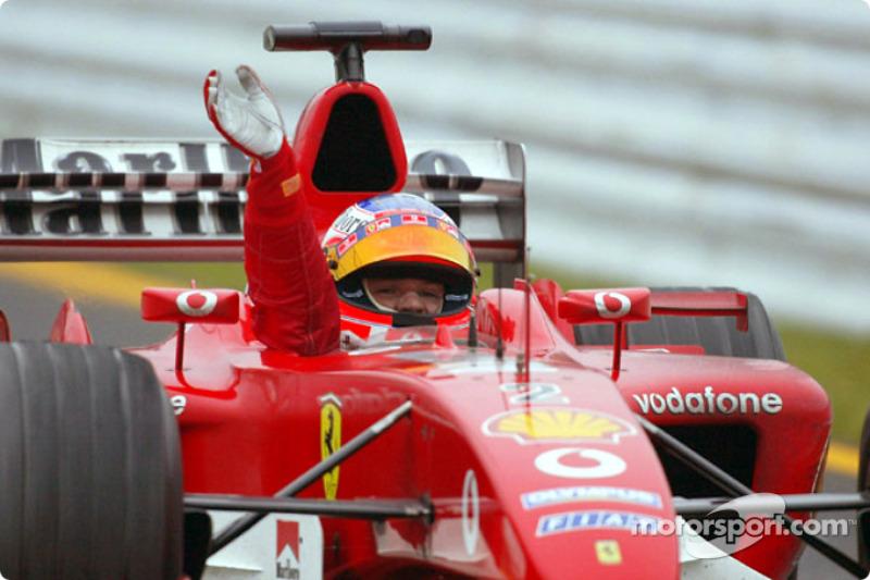 2003: Rubens Barrichello, Ferrari