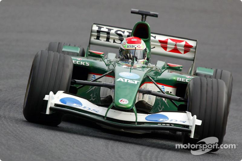 2003: Eerste punten tijdens de Amerikaanse GP