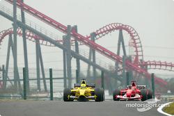 Ralph Firman et Michael Schumacher