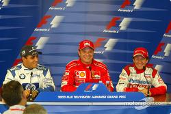 Saturday press conference: Juan Pablo Montoya, Rubens Barrichello and Cristiano da Matta