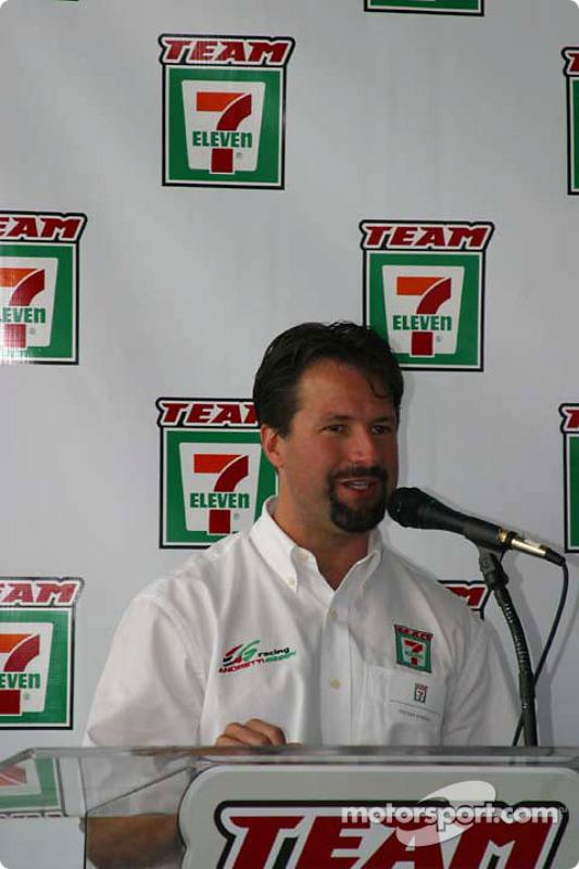 Conférence de presse Andretti Green Racing : Michael Andretti