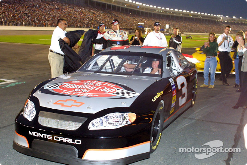 Dale Earnhardt Tribute: Richard Childress In The Dale Earnhardt Tribute Car At