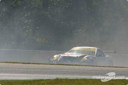 La #03 Hyper Sport Panoz Esperante GT-LM Elan de Joe Foster, Brad Nyberg et Rick Skelton, part en tê