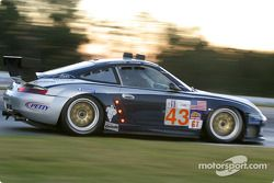 #43 Orbit Racing Porsche 911 GT3RS: Marc Lieb, Peter Baron, Mike Rockenfeller