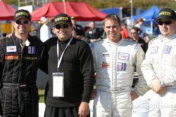 Grille de départ : Jason Workman, Andrew Davis et Scott Bradley