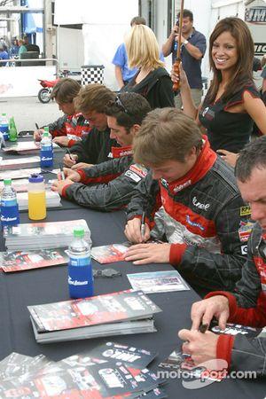 Autograph session: Ben Leuenberger