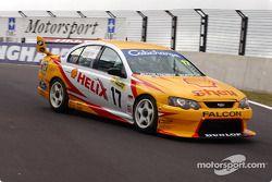 Steven Joneson au volant de la Shell Helix Ford