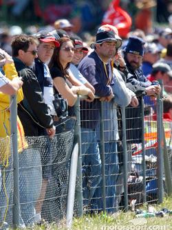 Fans remain on their feet