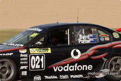 Craig Baird au volant de la Team Kiwi Racing Commodore