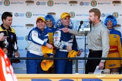 An ecstatic Glenn Seton and Craig Lowndes