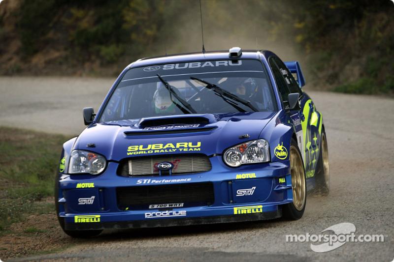 2003: Петтер Сольберг, Subaru Impreza WRC 2003