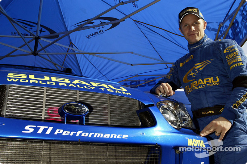 "<img class=""ms-flag-img ms-flag-img_s1"" title=""Norway"" src=""https://cdn-3.motorsport.com/static/img/cf/no-3.svg"" alt=""Norway"" width=""32"" /> Petter Solberg, Champion du monde WRC 2003"