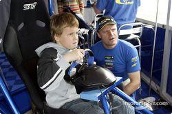 托米·马基宁和他的儿子