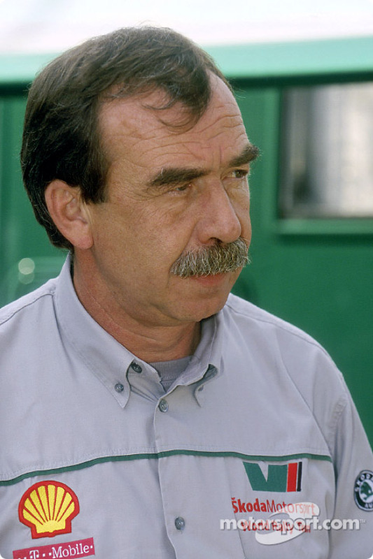 Pavel Janeb, team manager Skoda